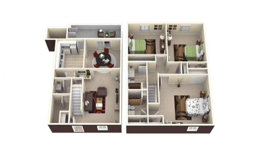 3 bedroom apartments charlotte nc salem village charlotte
