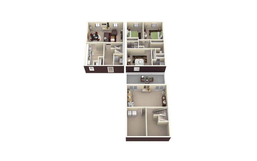 3 Bed Tri-Level - Upgraded
